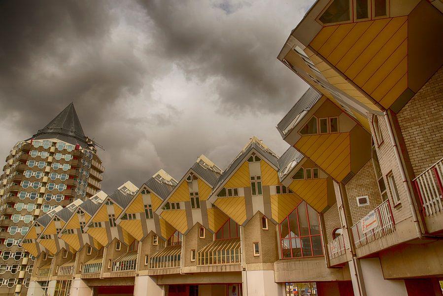 De Kubuswoningen in Rotterdam.