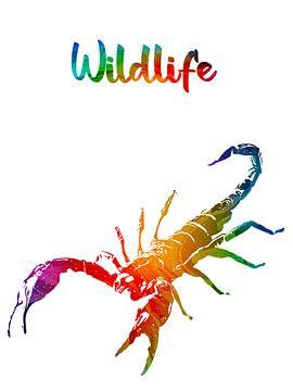 Skorpion von Printed Artings