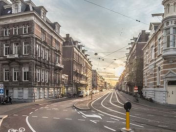 De Ruyschstraat in Amsterdam von