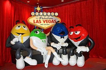 M&M's in Las Vegas van