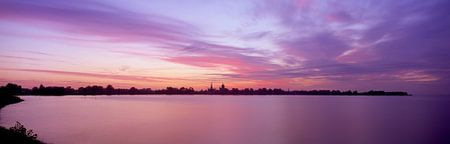 Hoorn Hoornse Hop zonsopgang van Hans Albers