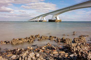 Zeeland-Brücke bei Colijnsplaat von Jan Poppe
