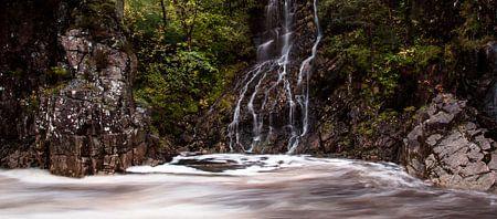 Wasserfall in Glencoe, Schottland
