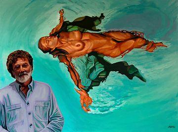 Lluís Ribas et son tableau Crisalda