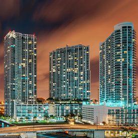Brickell Miami Skyline van Mark den Hartog