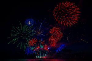 Vuurwerk3 van Fleksheks Fotografie