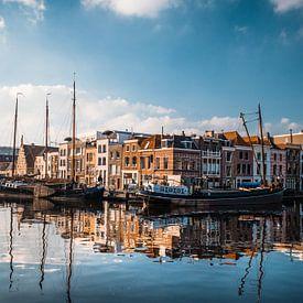 Het Galgewater in Leiden van Iris Zoutendijk