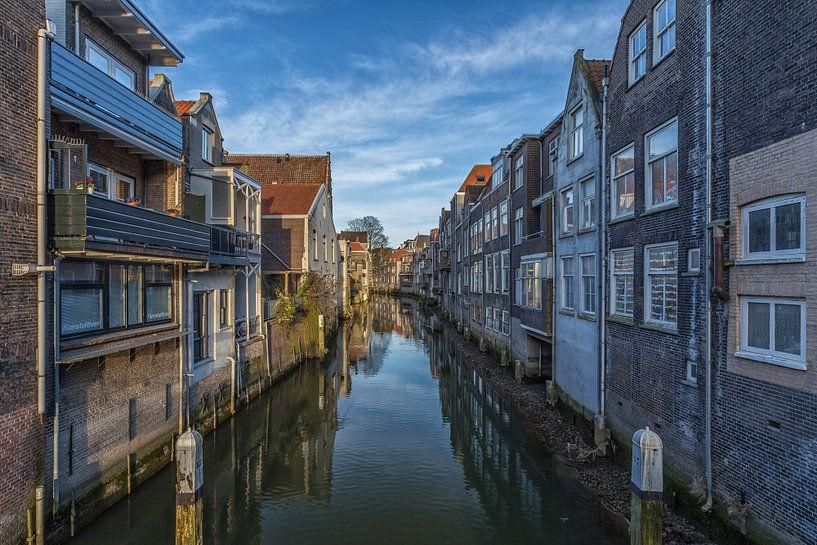 Voorstraathaven in Dordrecht van Tux Photography