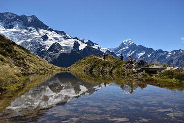Mt Cook, Nieuw-Zeeland, adembenemend landschap von Sebastiaan van Soest