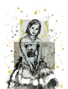 Rustende danser van ART Eva Maria