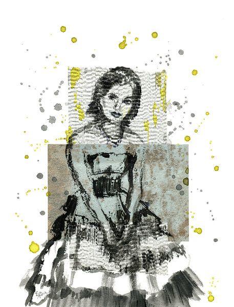Ruhende Tänzerin von ART Eva Maria