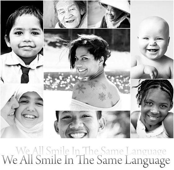 We all smile in the same language van Jacky Gerritsen
