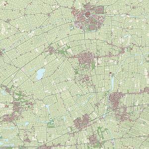 Kaart vanDantumadeel