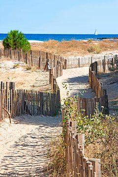 Weg naar het strand van Thomas Heitz