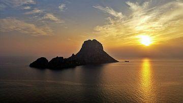 Zonsondergang, Es Vedra, Ibiza van