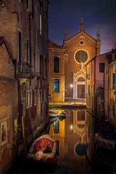 Venetië Reflectie van Iman Azizi