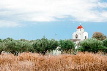 Église en Crète sur Laura de Roeck