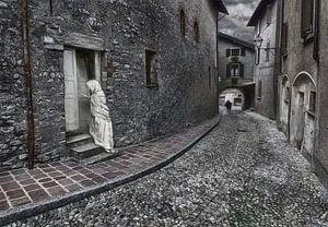 Pittoresk Italiaanse straatje van