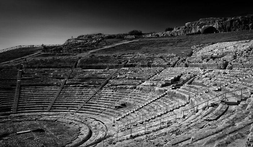 Grieks theater van Jeroen Linnenkamp