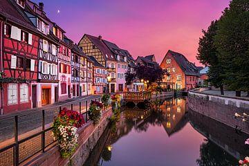 Sonnenuntergang in Colmar von Michael Abid