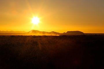Solitaire in Namibië van