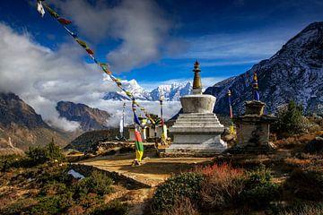 Stupa in Nepal von Jürgen Wiesler