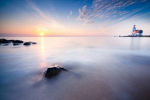 Sonnenaufgang von der Insel Marken