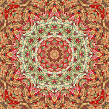 Mandala Muster  11 von Marion Tenbergen