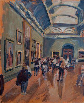 Besuch der National Gallery in London von Nop Briex