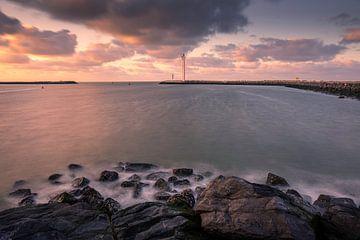 View to the sea van Wim van D