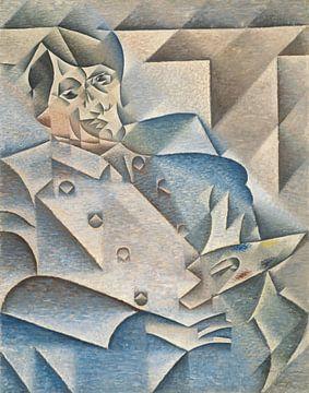 Juan Gris, Porträt von Pablo Picasso - 1912 von Atelier Liesjes