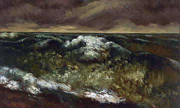 Golf, Gustave Courbet van Atelier Liesjes