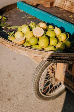 Limetten zu verkaufen in Beirut, Libanon von Moniek Kuipers