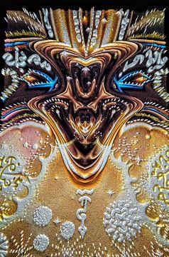 Le dragon d'or sur Nina IoKa