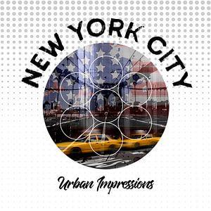 Graphic Art NEW YORK CITY Urbane Impressionen