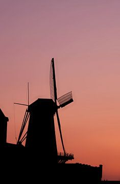 Windmolen Kijck over den Dijck - Dordrecht von Jeroen Jonker