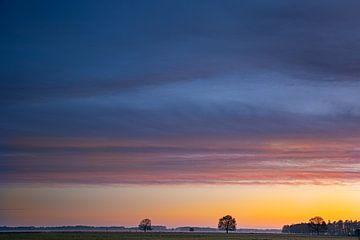 Sonnenaufgang Hijkerveld von Arie Flokstra Natuurfotografie