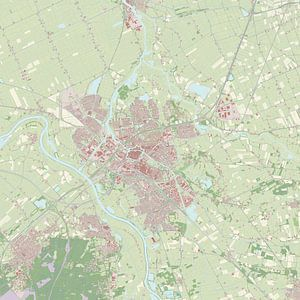 Kaart vanZwolle