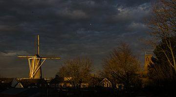 zonsondergang in Oss van mick agterberg