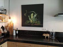 Klantfoto: Een groen sprookje van Monique van Velzen, op canvas