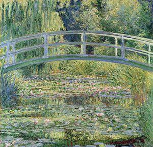 De Japanse brug en de waterlelies, Claude Monet van