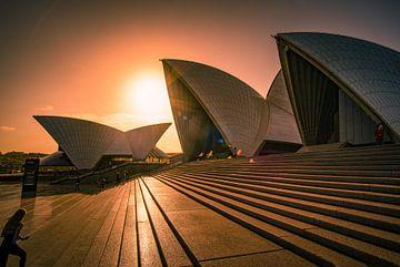 Sydney Opera House, Australia sur Dave Verstappen