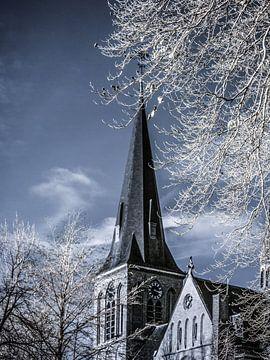 Sint Lambertus kerk Beers #3 van Lex Schulte