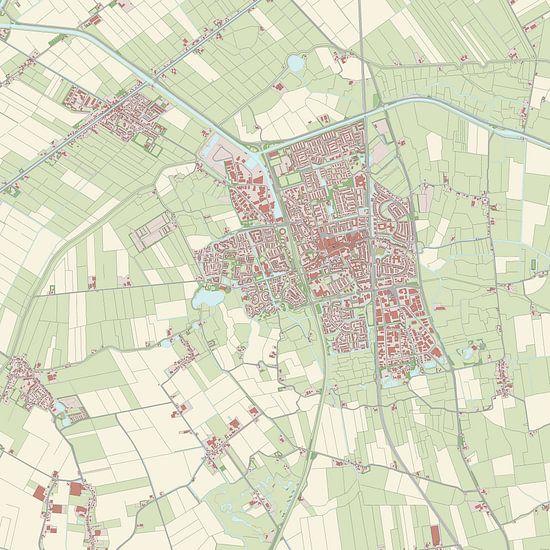 Kaart vanSchagen
