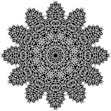 Mandala Om von Fatima AQEL