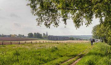 Dorpje Mechelen in Zuid-Limburg von John Kreukniet