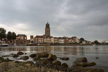Deventer skyline van Ad Jekel