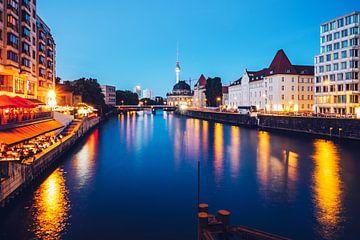 Berlin – View from Weidendamm Bridge van Alexander Voss