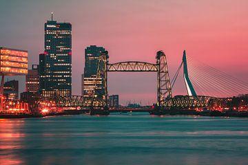 Die Brücken von Rotterdam von Nuance Beeld