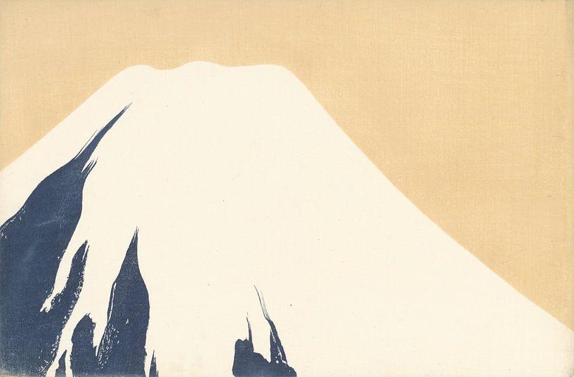 Le Mont Fuji par Kamisaka Sekka, 1909 sur Gave Meesters